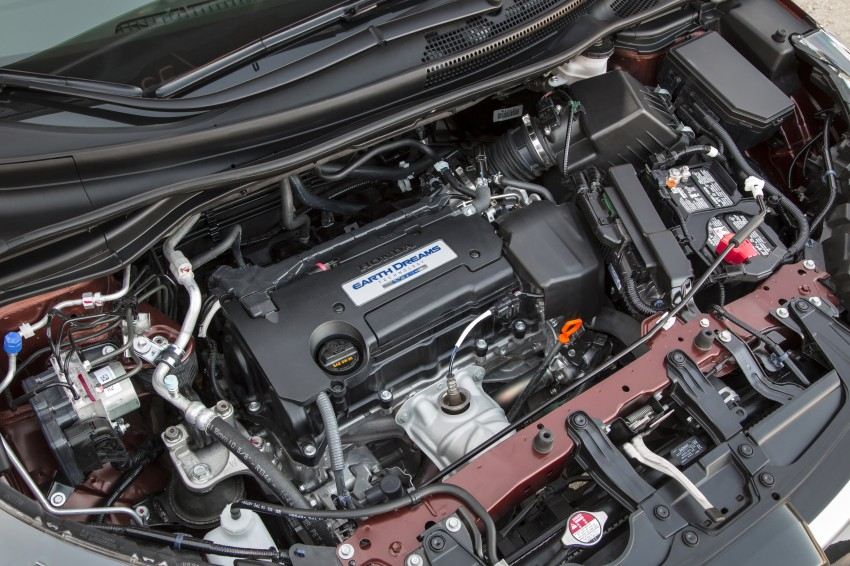 2015 Honda CR-V facelift – 2.4 i-VTEC with CVT for the US, and 1.6 i-DTEC with nine-speed auto for Europe Image #276556