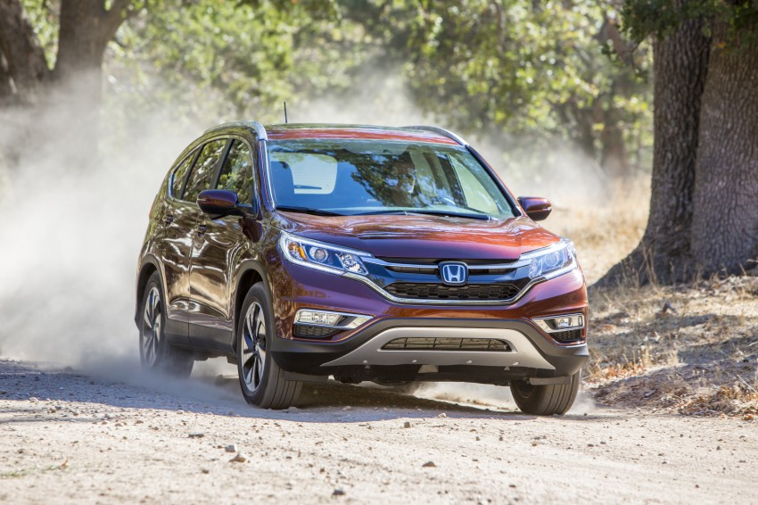 2015 Honda CR-V facelift – 2.4 i-VTEC with CVT for the US, and 1.6 i-DTEC with nine-speed auto for Europe Image #276594