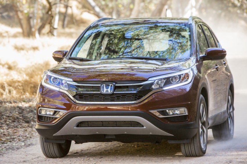2015 Honda CR-V facelift – 2.4 i-VTEC with CVT for the US, and 1.6 i-DTEC with nine-speed auto for Europe Image #276555