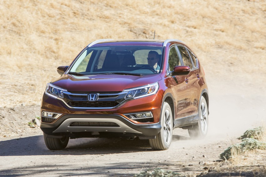2015 Honda CR-V facelift – 2.4 i-VTEC with CVT for the US, and 1.6 i-DTEC with nine-speed auto for Europe Image #276566