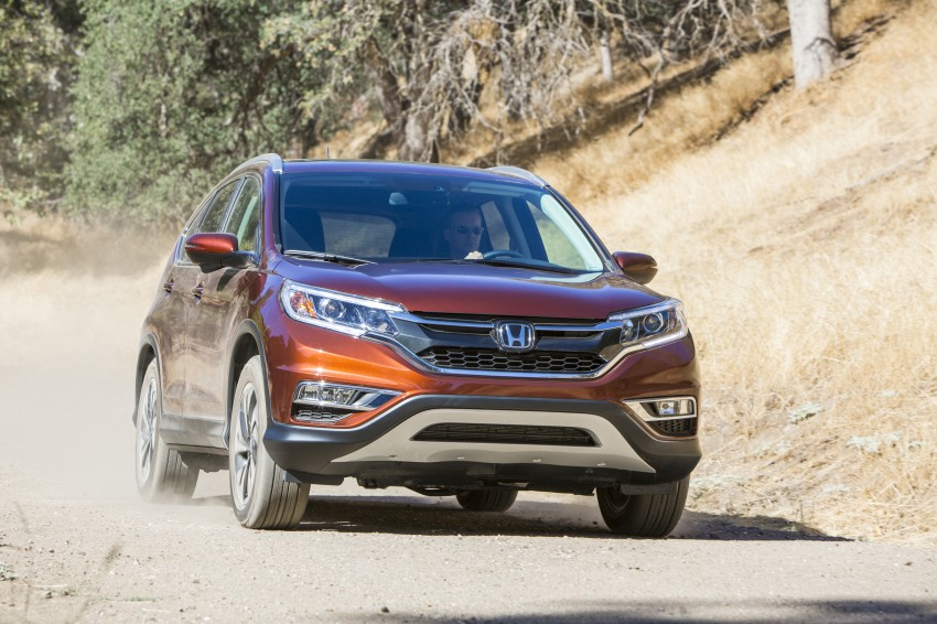 2015 Honda CR-V facelift – 2.4 i-VTEC with CVT for the US, and 1.6 i-DTEC with nine-speed auto for Europe Image #276554