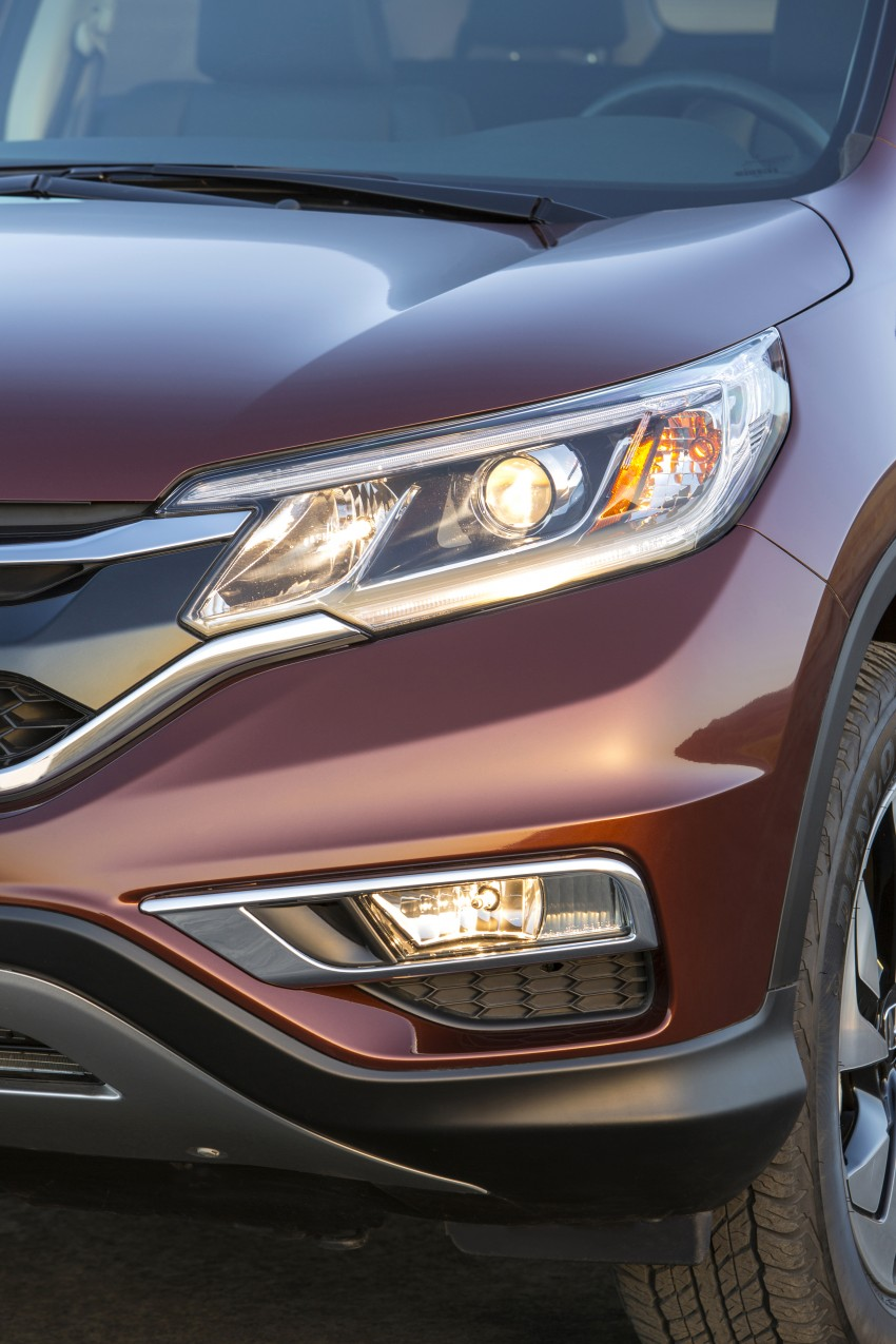 2015 Honda CR-V facelift – 2.4 i-VTEC with CVT for the US, and 1.6 i-DTEC with nine-speed auto for Europe Image #276565
