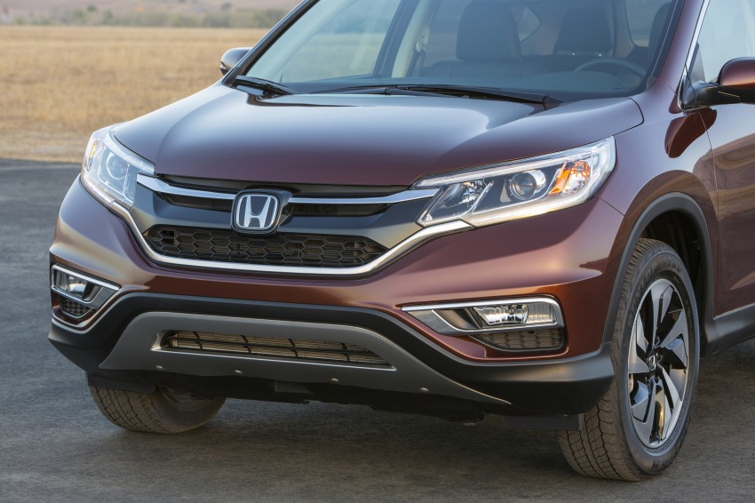2015 Honda CR-V facelift – 2.4 i-VTEC with CVT for the US, and 1.6 i-DTEC with nine-speed auto for Europe Image #276563