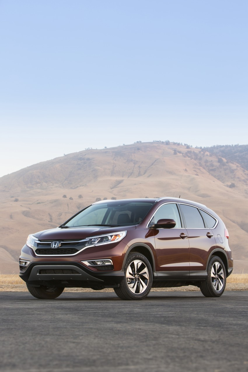 2015 Honda CR-V facelift – 2.4 i-VTEC with CVT for the US, and 1.6 i-DTEC with nine-speed auto for Europe Image #276559