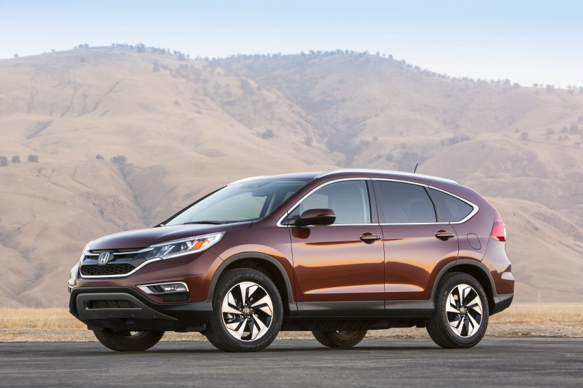 2015 Honda CR-V facelift – 2.4 i-VTEC with CVT for the US, and 1.6 i-DTEC with nine-speed auto for Europe Image #276693
