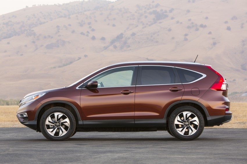 2015 Honda CR-V facelift – 2.4 i-VTEC with CVT for the US, and 1.6 i-DTEC with nine-speed auto for Europe Image #276692