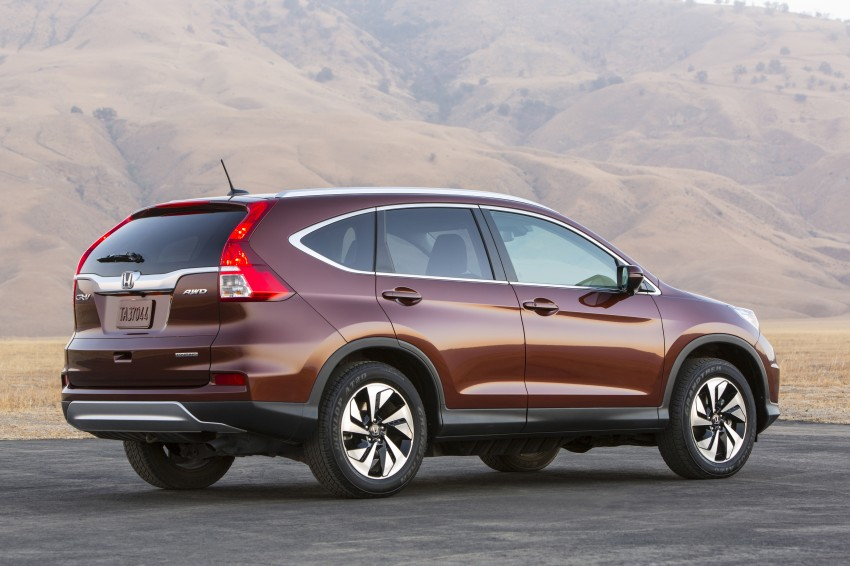 2015 Honda CR-V facelift – 2.4 i-VTEC with CVT for the US, and 1.6 i-DTEC with nine-speed auto for Europe Image #276691