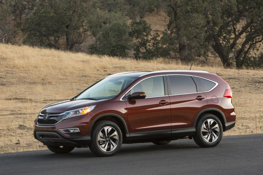 2015 Honda CR-V facelift – 2.4 i-VTEC with CVT for the US, and 1.6 i-DTEC with nine-speed auto for Europe Image #276689