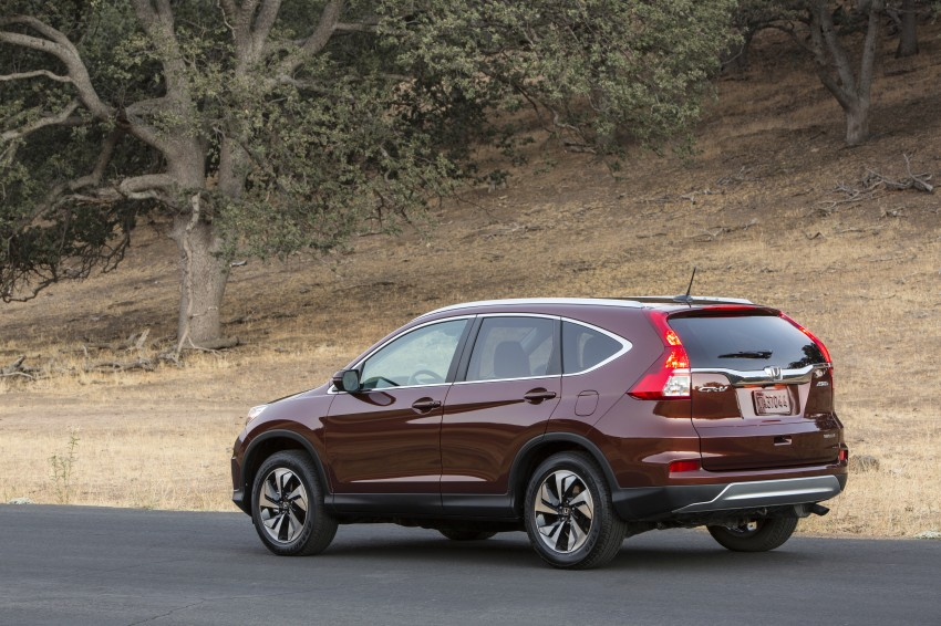 2015 Honda CR-V facelift – 2.4 i-VTEC with CVT for the US, and 1.6 i-DTEC with nine-speed auto for Europe Image #276687