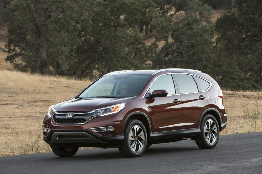2015 Honda CR-V facelift – 2.4 i-VTEC with CVT for the US, and 1.6 i-DTEC with nine-speed auto for Europe Image #276688