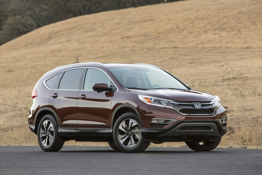 2015 Honda CR-V facelift – 2.4 i-VTEC with CVT for the US, and 1.6 i-DTEC with nine-speed auto for Europe Image #276686