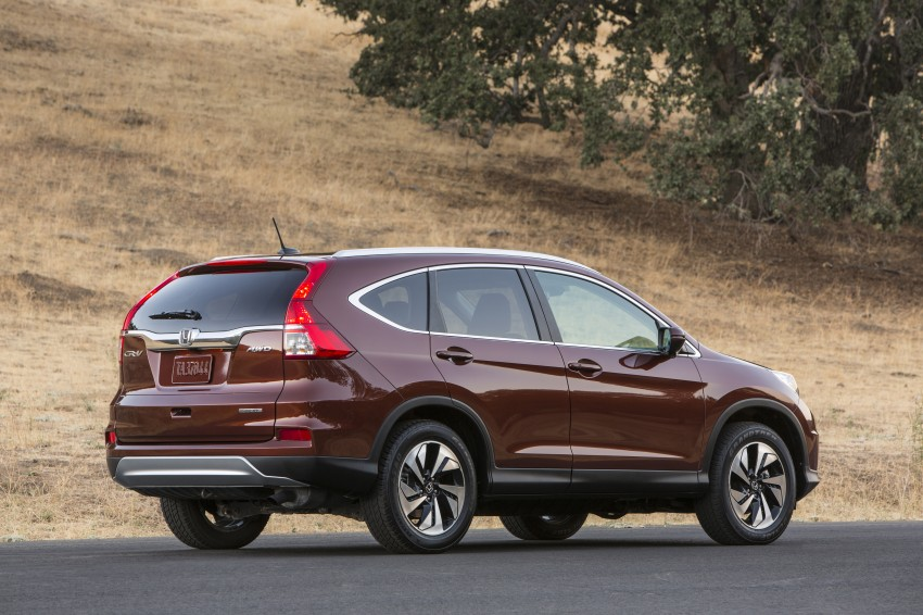 2015 Honda CR-V facelift – 2.4 i-VTEC with CVT for the US, and 1.6 i-DTEC with nine-speed auto for Europe Image #276684