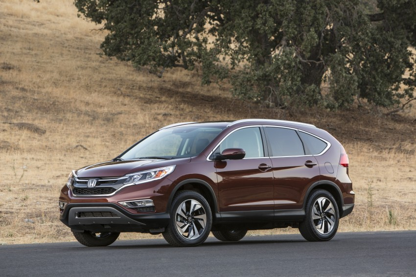 2015 Honda CR-V facelift – 2.4 i-VTEC with CVT for the US, and 1.6 i-DTEC with nine-speed auto for Europe Image #276679
