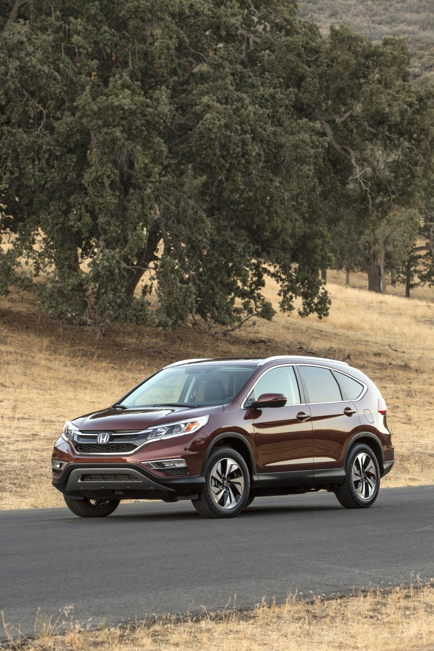 2015 Honda CR-V facelift – 2.4 i-VTEC with CVT for the US, and 1.6 i-DTEC with nine-speed auto for Europe Image #276680