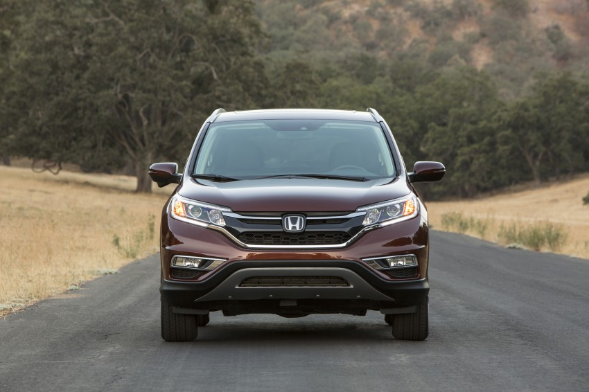 2015 Honda CR-V facelift – 2.4 i-VTEC with CVT for the US, and 1.6 i-DTEC with nine-speed auto for Europe Image #276683