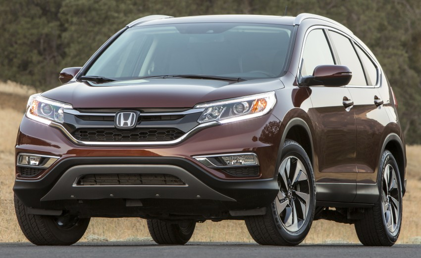 2015 Honda CR-V facelift – 2.4 i-VTEC with CVT for the US, and 1.6 i-DTEC with nine-speed auto for Europe Image #276682