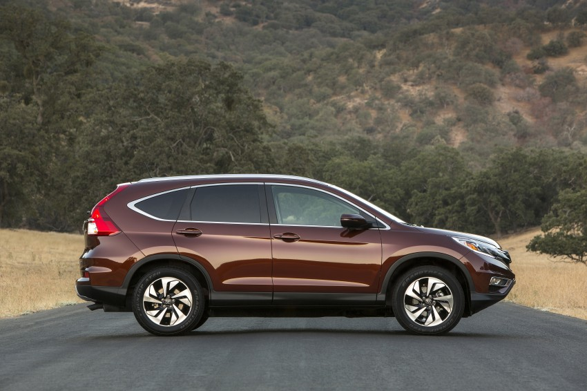 2015 Honda CR-V facelift – 2.4 i-VTEC with CVT for the US, and 1.6 i-DTEC with nine-speed auto for Europe Image #276672