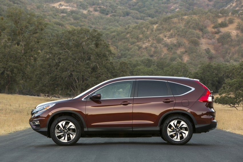 2015 Honda CR-V facelift – 2.4 i-VTEC with CVT for the US, and 1.6 i-DTEC with nine-speed auto for Europe Image #276676