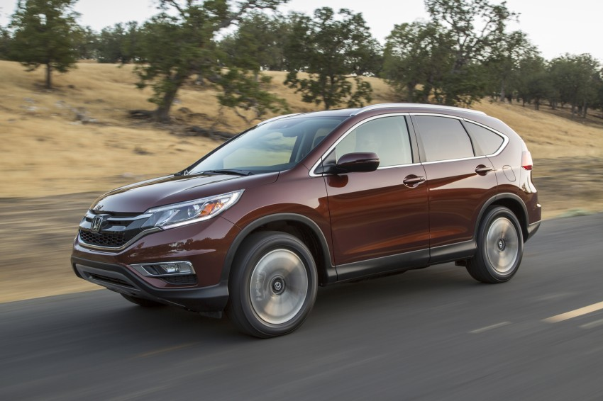2015 Honda CR-V facelift – 2.4 i-VTEC with CVT for the US, and 1.6 i-DTEC with nine-speed auto for Europe Image #276671