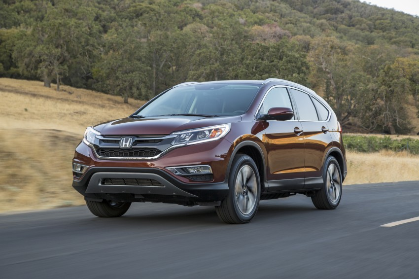 2015 Honda CR-V facelift – 2.4 i-VTEC with CVT for the US, and 1.6 i-DTEC with nine-speed auto for Europe Image #276673