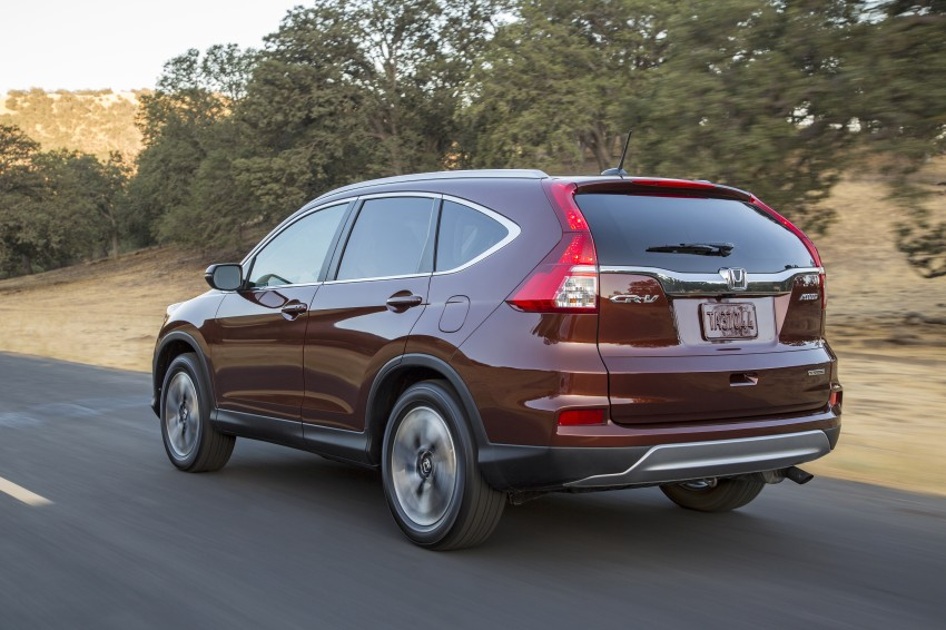 2015 Honda CR-V facelift – 2.4 i-VTEC with CVT for the US, and 1.6 i-DTEC with nine-speed auto for Europe Image #276674