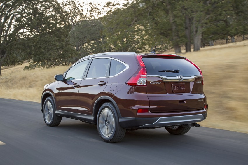 2015 Honda CR-V facelift – 2.4 i-VTEC with CVT for the US, and 1.6 i-DTEC with nine-speed auto for Europe Image #276675