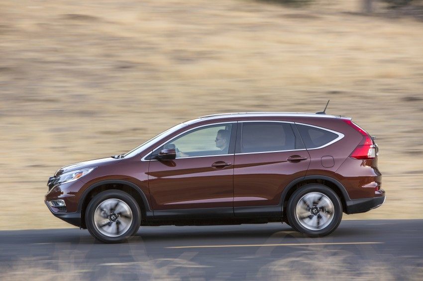 2015 Honda CR-V facelift – 2.4 i-VTEC with CVT for the US, and 1.6 i-DTEC with nine-speed auto for Europe Image #276668
