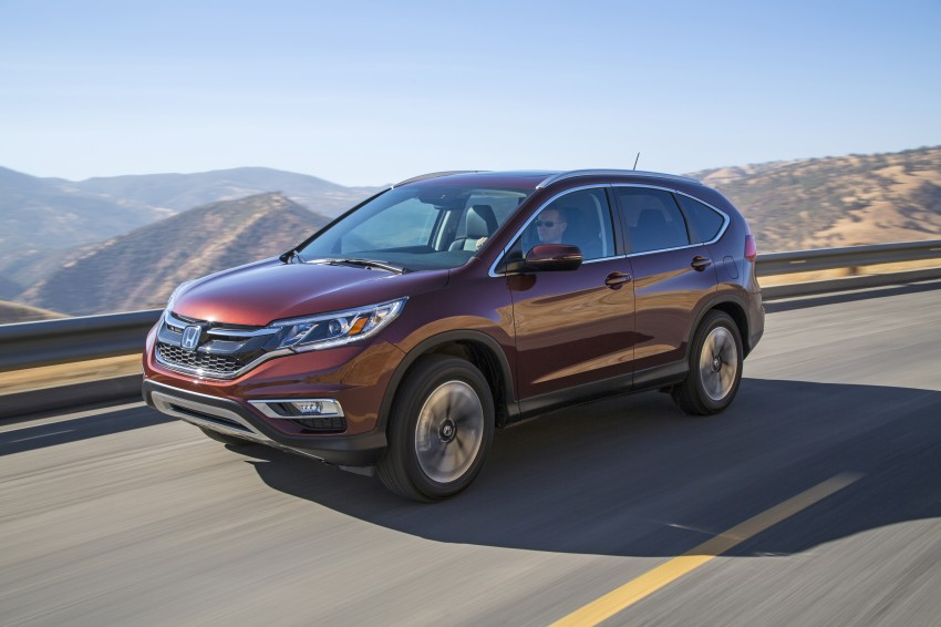 2015 Honda CR-V facelift – 2.4 i-VTEC with CVT for the US, and 1.6 i-DTEC with nine-speed auto for Europe Image #276666