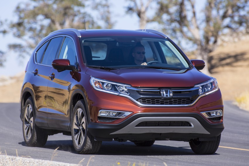 2015 Honda CR-V facelift – 2.4 i-VTEC with CVT for the US, and 1.6 i-DTEC with nine-speed auto for Europe Image #276665