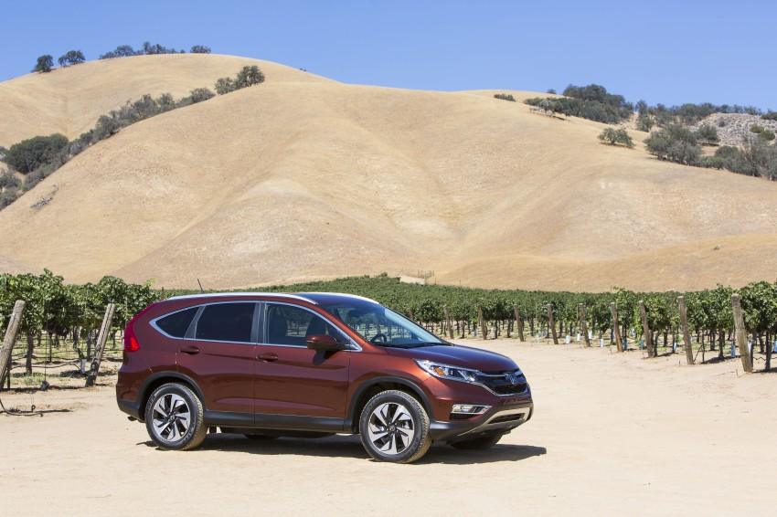 2015 Honda CR-V facelift – 2.4 i-VTEC with CVT for the US, and 1.6 i-DTEC with nine-speed auto for Europe Image #276661