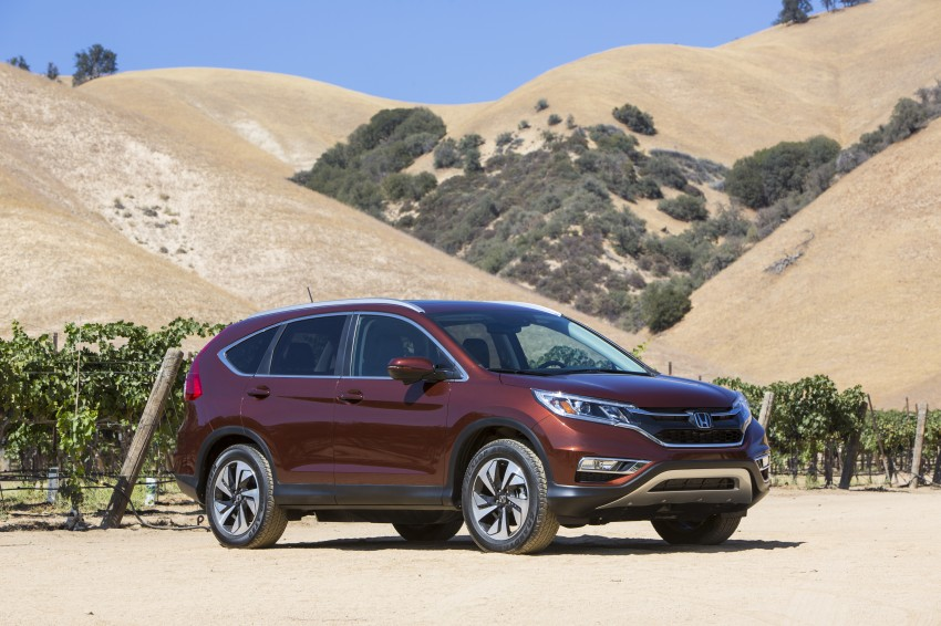 2015 Honda CR-V facelift – 2.4 i-VTEC with CVT for the US, and 1.6 i-DTEC with nine-speed auto for Europe Image #276662