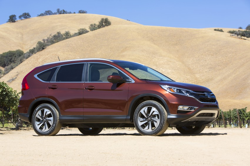 2015 Honda CR-V facelift – 2.4 i-VTEC with CVT for the US, and 1.6 i-DTEC with nine-speed auto for Europe Image #276663