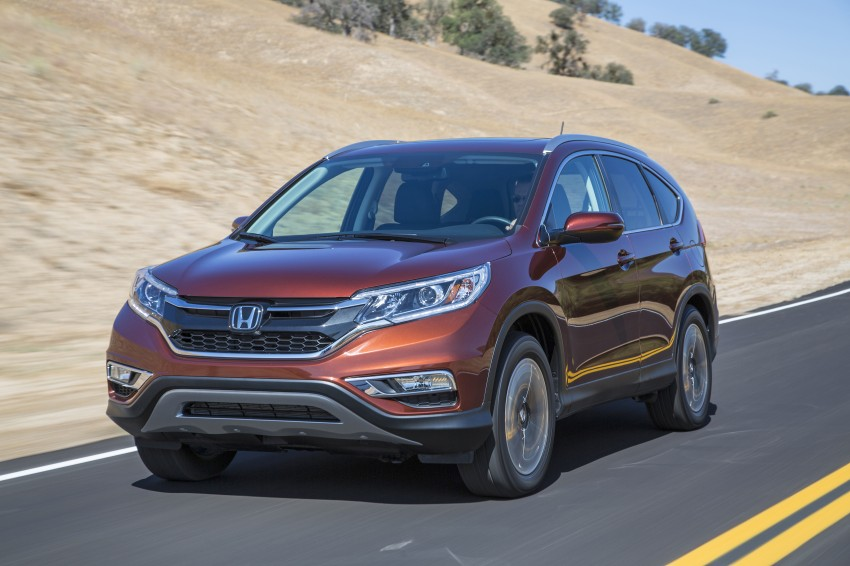 2015 Honda CR-V facelift – 2.4 i-VTEC with CVT for the US, and 1.6 i-DTEC with nine-speed auto for Europe Image #276658