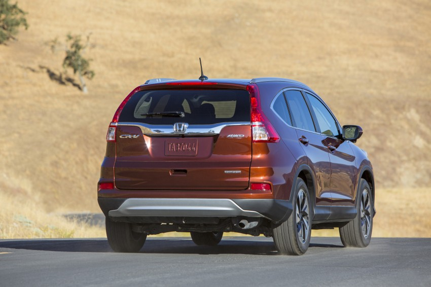 2015 Honda CR-V facelift – 2.4 i-VTEC with CVT for the US, and 1.6 i-DTEC with nine-speed auto for Europe Image #276656