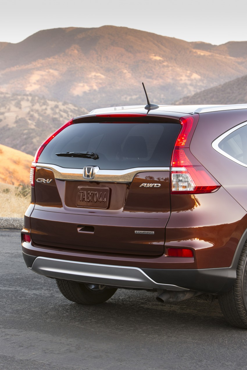 2015 Honda CR-V facelift – 2.4 i-VTEC with CVT for the US, and 1.6 i-DTEC with nine-speed auto for Europe Image #276655