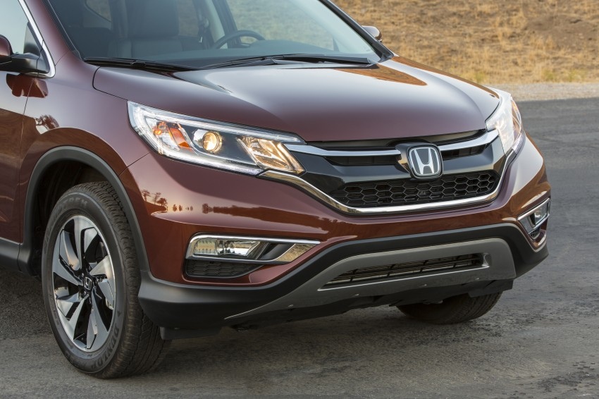 2015 Honda CR-V facelift – 2.4 i-VTEC with CVT for the US, and 1.6 i-DTEC with nine-speed auto for Europe Image #276653