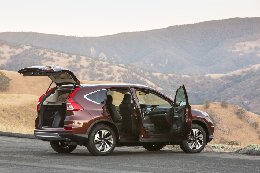 2015 Honda CR-V facelift – 2.4 i-VTEC with CVT for the US, and 1.6 i-DTEC with nine-speed auto for Europe Image #276654