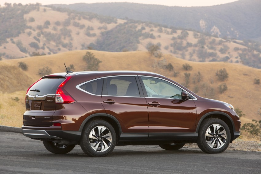 2015 Honda CR-V facelift – 2.4 i-VTEC with CVT for the US, and 1.6 i-DTEC with nine-speed auto for Europe Image #276649