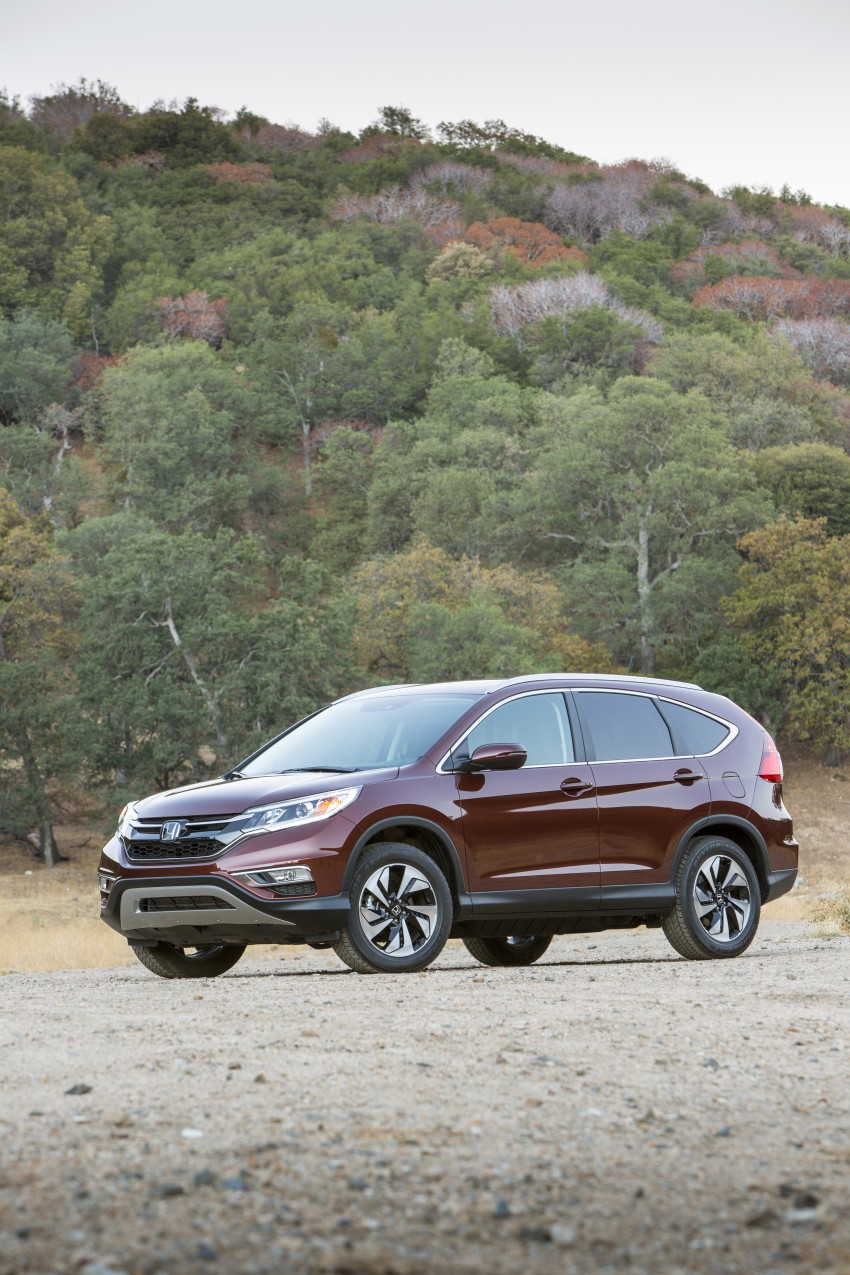 2015 Honda CR-V facelift – 2.4 i-VTEC with CVT for the US, and 1.6 i-DTEC with nine-speed auto for Europe Image #276647
