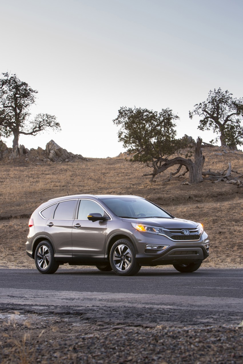 2015 Honda CR-V facelift – 2.4 i-VTEC with CVT for the US, and 1.6 i-DTEC with nine-speed auto for Europe Image #276646