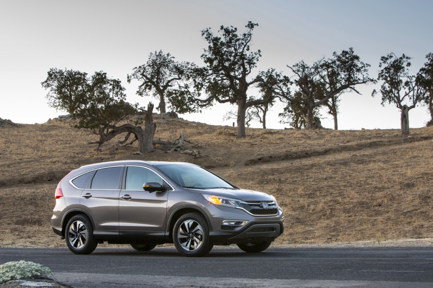 2015 Honda CR-V facelift – 2.4 i-VTEC with CVT for the US, and 1.6 i-DTEC with nine-speed auto for Europe Image #276645
