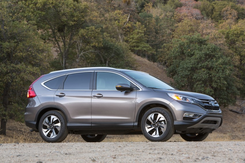 2015 Honda CR-V facelift – 2.4 i-VTEC with CVT for the US, and 1.6 i-DTEC with nine-speed auto for Europe Image #276641