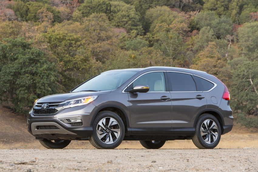 2015 Honda CR-V facelift – 2.4 i-VTEC with CVT for the US, and 1.6 i-DTEC with nine-speed auto for Europe Image #276642