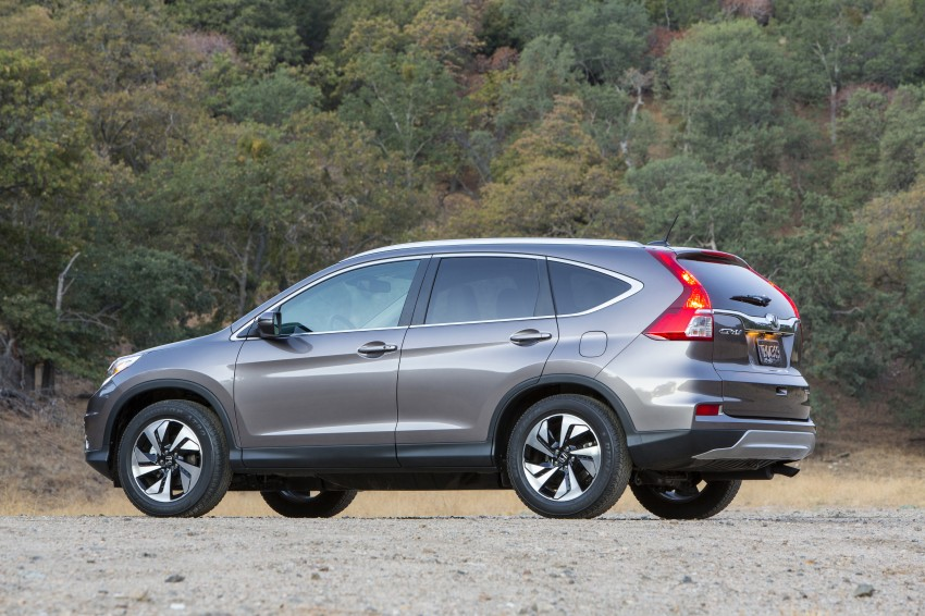 2015 Honda CR-V facelift – 2.4 i-VTEC with CVT for the US, and 1.6 i-DTEC with nine-speed auto for Europe Image #276633