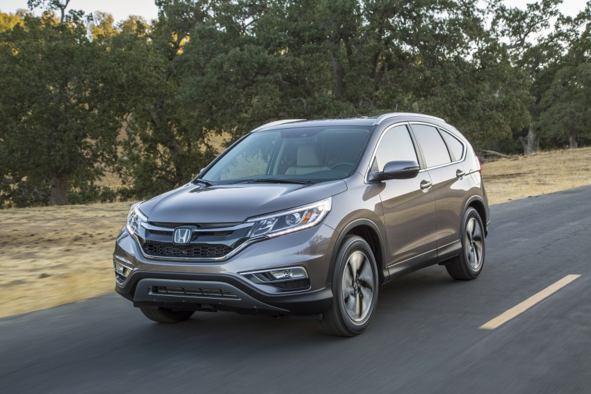 2015 Honda CR-V facelift – 2.4 i-VTEC with CVT for the US, and 1.6 i-DTEC with nine-speed auto for Europe Image #276643