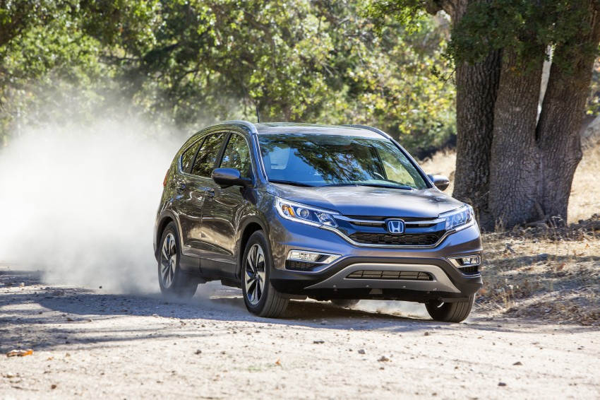 2015 Honda CR-V facelift – 2.4 i-VTEC with CVT for the US, and 1.6 i-DTEC with nine-speed auto for Europe Image #276636