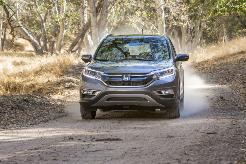 2015 Honda CR-V facelift – 2.4 i-VTEC with CVT for the US, and 1.6 i-DTEC with nine-speed auto for Europe Image #276637