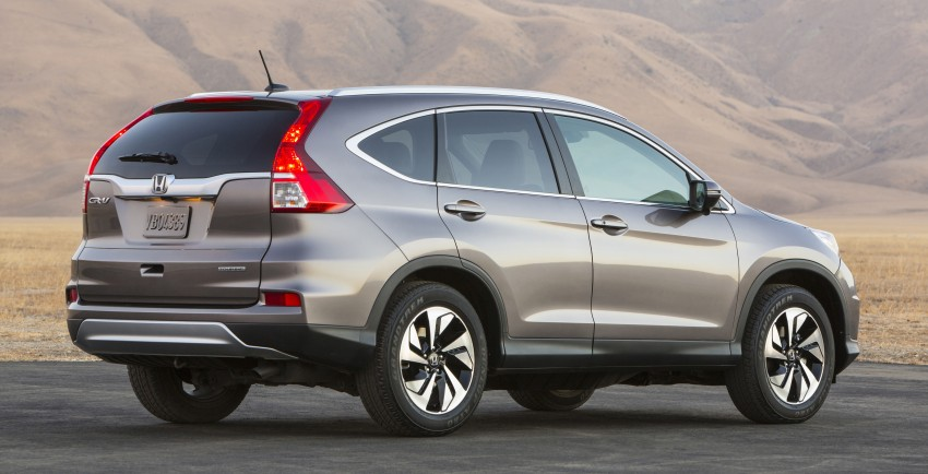 2015 Honda CR-V facelift – 2.4 i-VTEC with CVT for the US, and 1.6 i-DTEC with nine-speed auto for Europe Image #276634