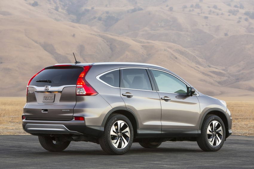 2015 Honda CR-V facelift – 2.4 i-VTEC with CVT for the US, and 1.6 i-DTEC with nine-speed auto for Europe Image #276638