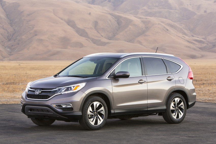 2015 Honda CR-V facelift – 2.4 i-VTEC with CVT for the US, and 1.6 i-DTEC with nine-speed auto for Europe Image #276629